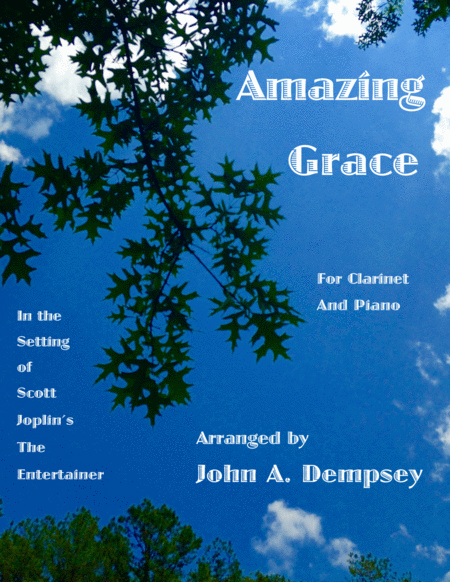 Amazing Grace / The Entertainer (Clarinet and Piano)