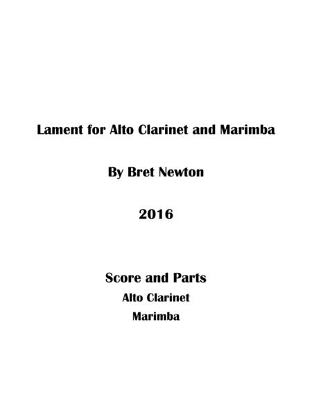 Lament for Alto Clarinet and Marimba