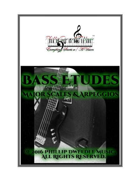 Bass Etudes: Major Scales & Arpeggios