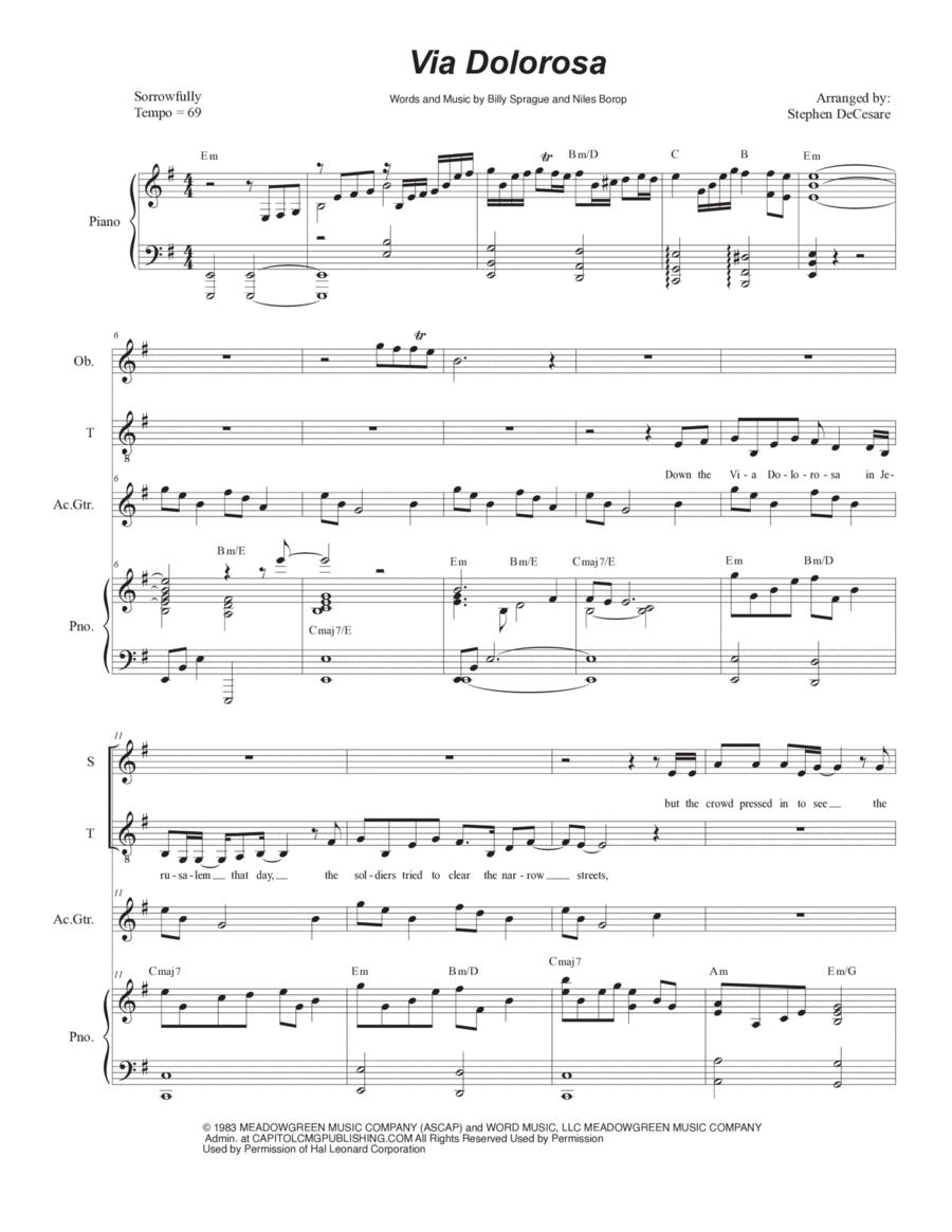 Via Dolorosa (Duet for Soprano and Tenor Solo)
