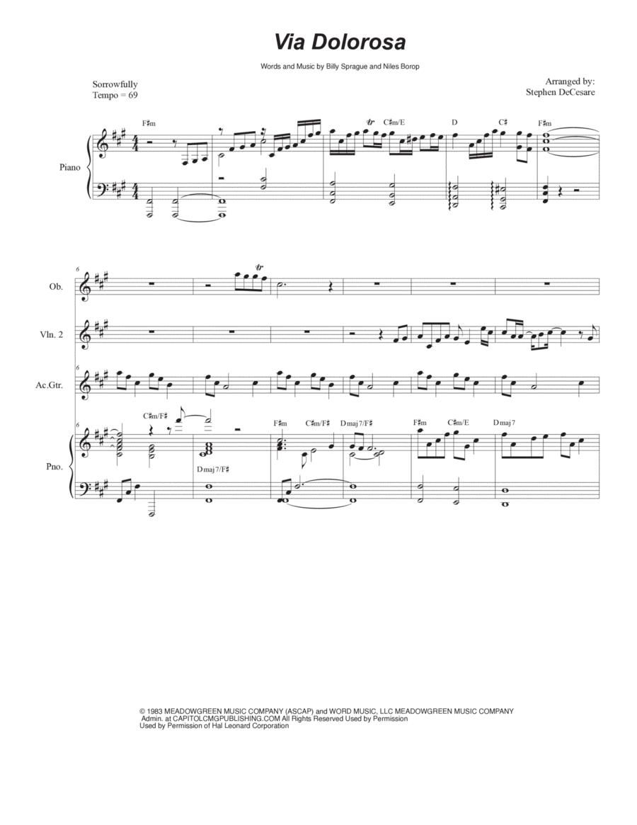 Via Dolorosa (for Violin Duet)