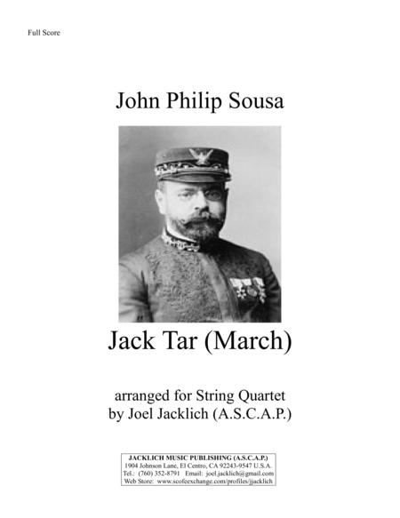 Jack Tar (March) for String Quartet