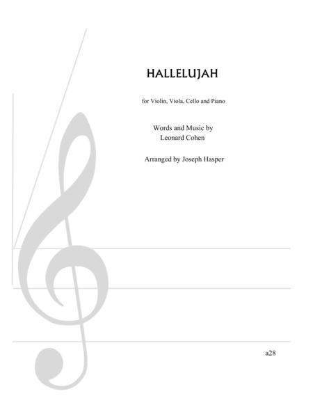 Hallelujah (Piano Quartet)