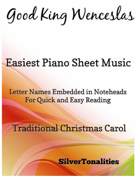 Good King Wenceslas Easiest Piano Sheet Music