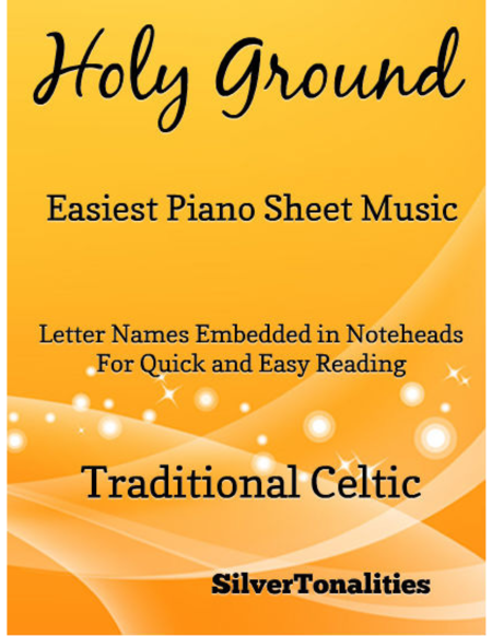 Holy Ground Easiest Piano Sheet Music