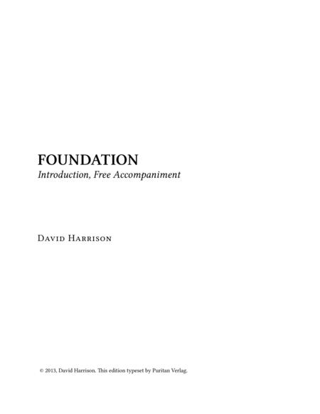 FOUNDATION - Introduction, Free Accompaniment