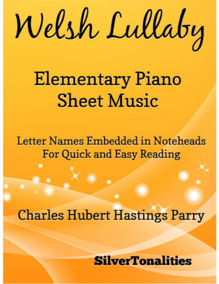 Welsh Elementary Piano Sheet Music