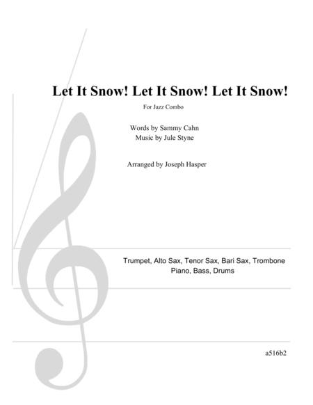 Let It Snow! Let It Snow! Let It Snow! (Jazz Combo with 5 Horns)