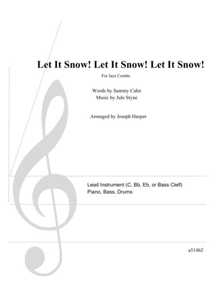 Let It Snow! Let It Snow! Let It Snow! (Basic Jazz Combo)