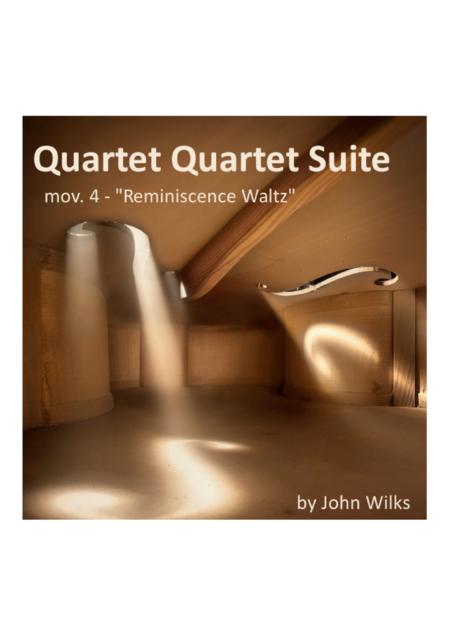 Reminiscence Waltz - String Quartet (Mov #4 of String Suite)