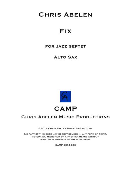 Fix - Alto Saxophone