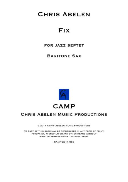 Fix - Baritone Saxophone