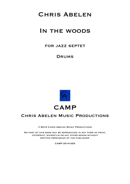 In the woods - Drums