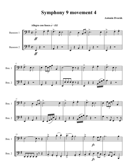 Finale from Symphony 9
