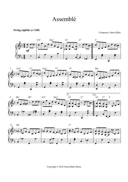 Music for Ballet Class - Assemblé