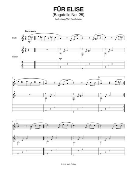 Für Elise (Bagatelle No. 25 in A Minor)