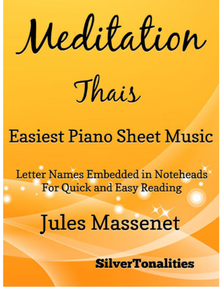Meditation Thais Easiest Piano Sheet Music