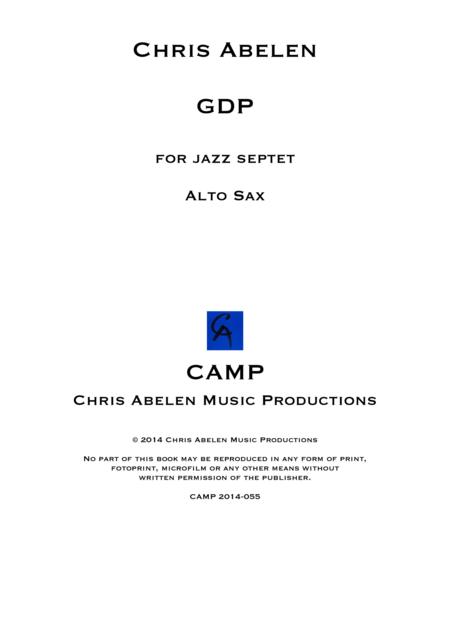 GDP - Alto Saxophone