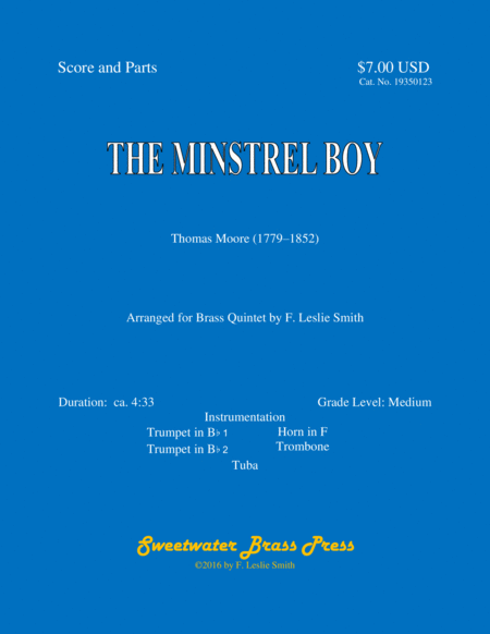 The Minstrel Boy (The Moreen/The Son of God Goes Forth to War/One in Jesus)