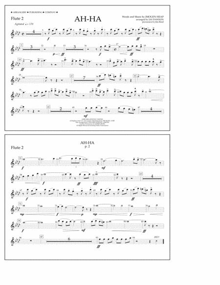 Ah-ha - Flute 2