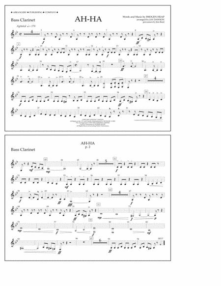 Ah-ha - Bass Clarinet