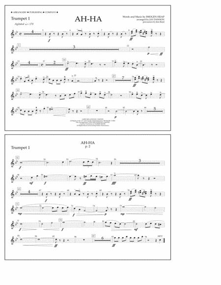 Ah-ha - Trumpet 1