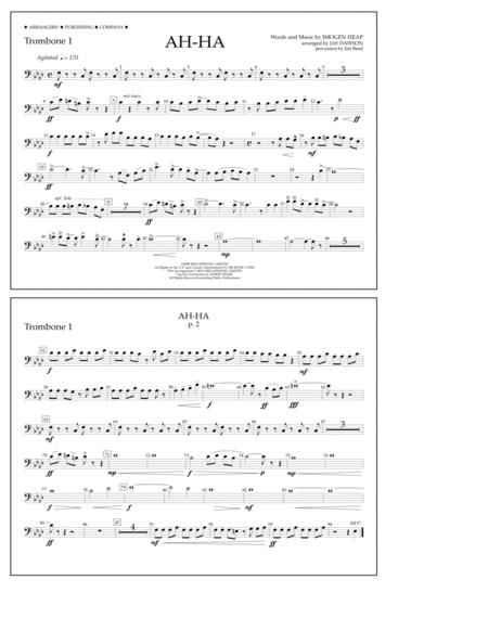 Ah-ha - Trombone 1