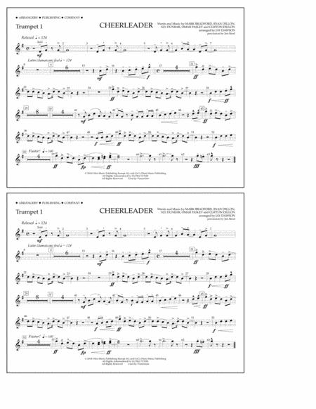 Cheerleader - Trumpet 1