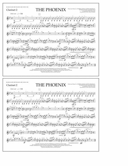 The Phoenix - Clarinet 2