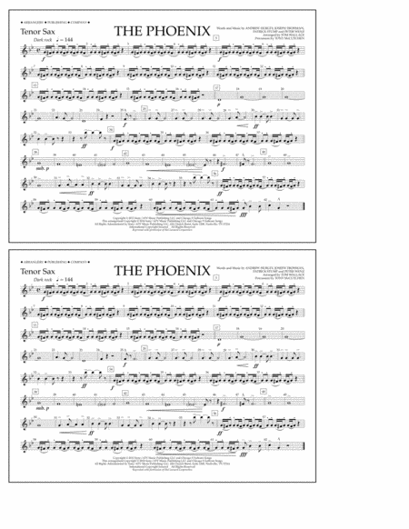 The Phoenix - Tenor Sax