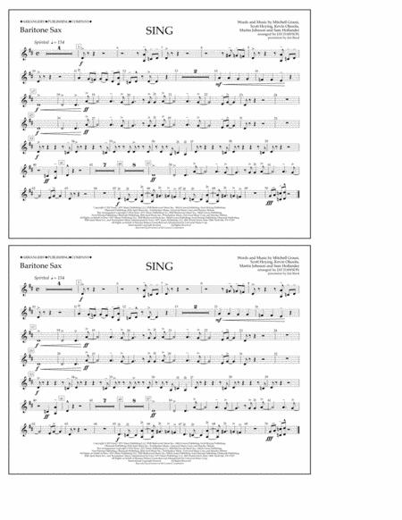 Sing - Baritone Sax