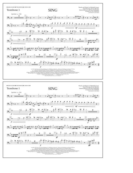 Sing - Trombone 1
