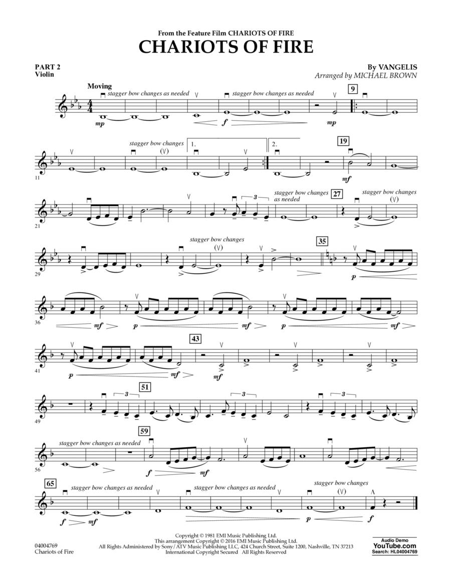 Chariots of Fire - Pt.2 - Violin