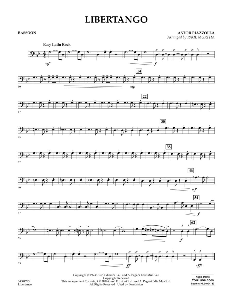 Libertango - Bassoon