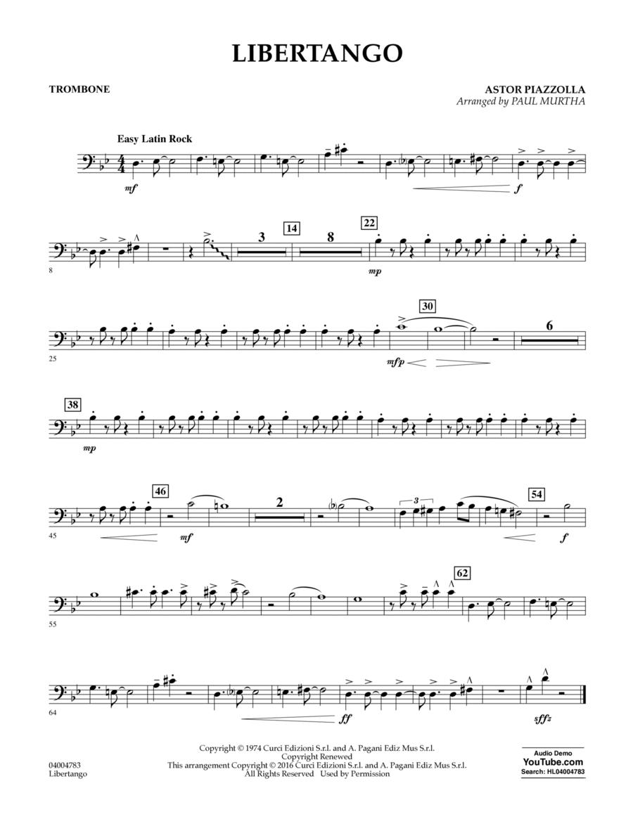 Libertango - Trombone