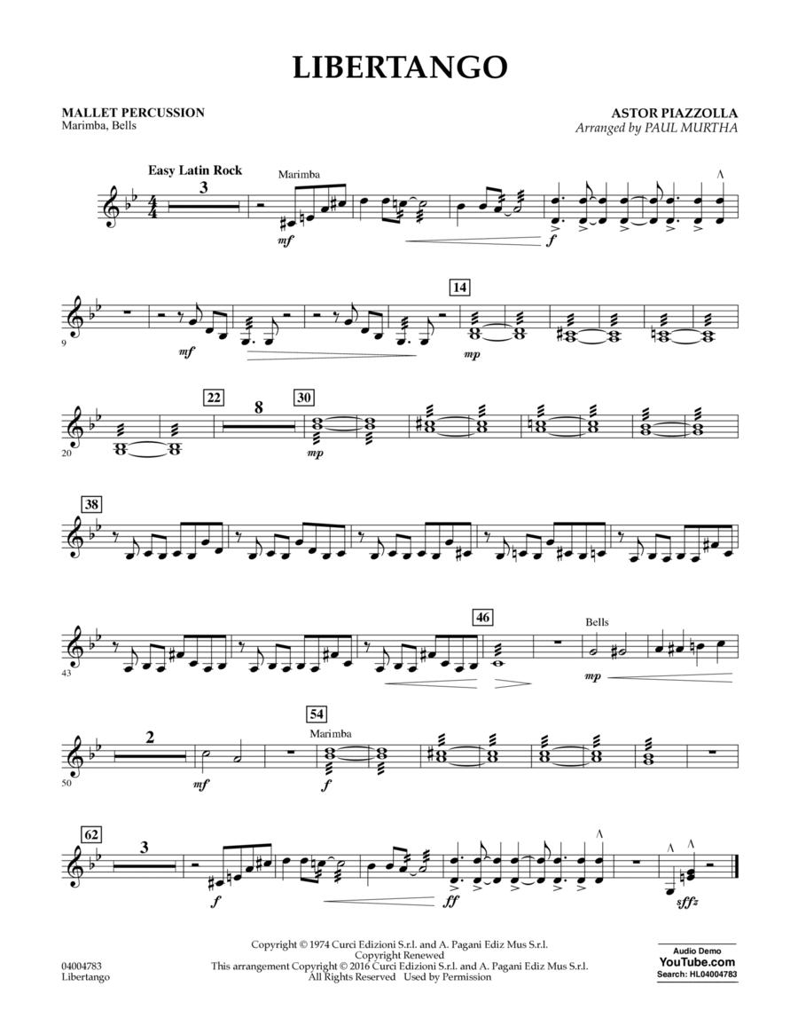 Libertango - Mallet Percussion