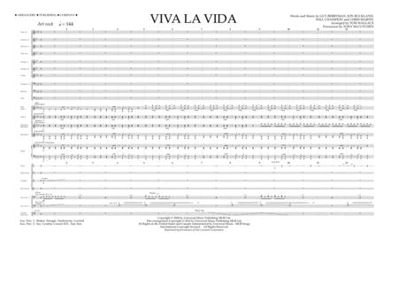 Viva La Vida - Full Score