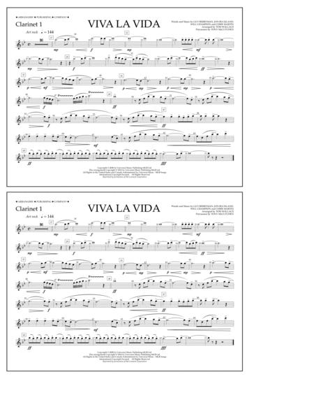 Viva La Vida - Clarinet 1