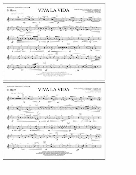Viva La Vida - Bb Horn