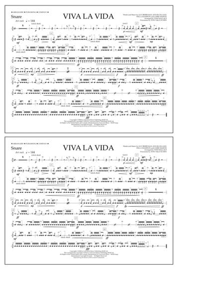 Viva La Vida - Snare