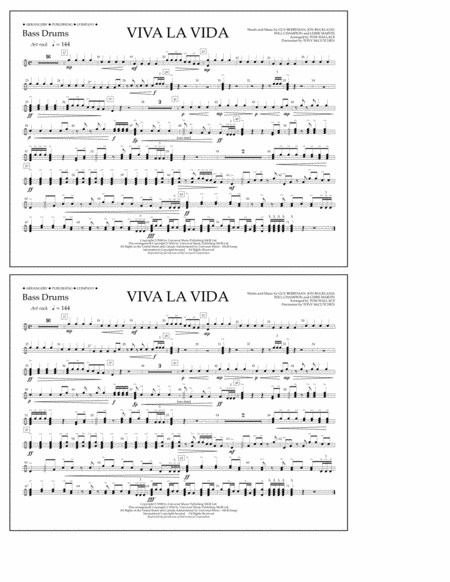 Viva La Vida - Bass Drums