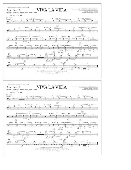 Viva La Vida - Aux. Perc. 2