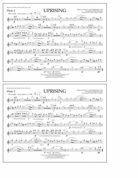 Uprising - Flute 2