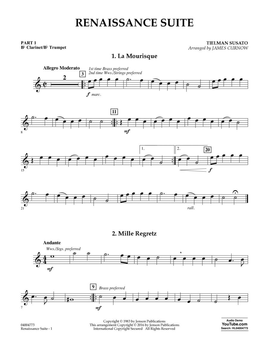 Renaissance Suite - Pt.1 - Bb Clarinet/Bb Trumpet