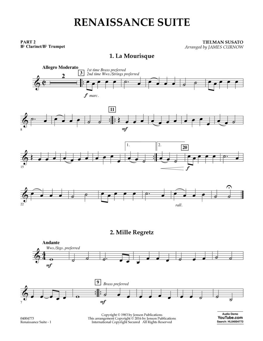 Renaissance Suite - Pt.2 - Bb Clarinet/Bb Trumpet
