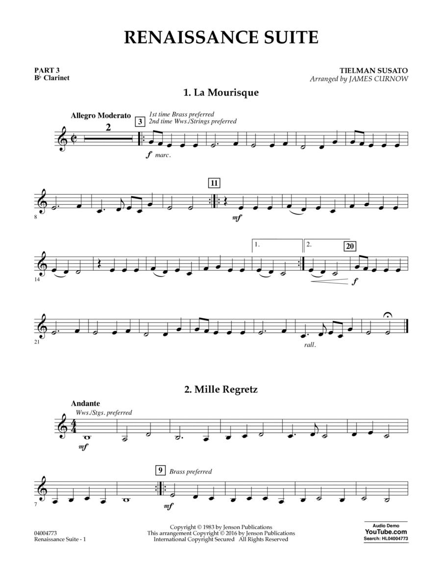 Renaissance Suite - Pt.3 - Bb Clarinet