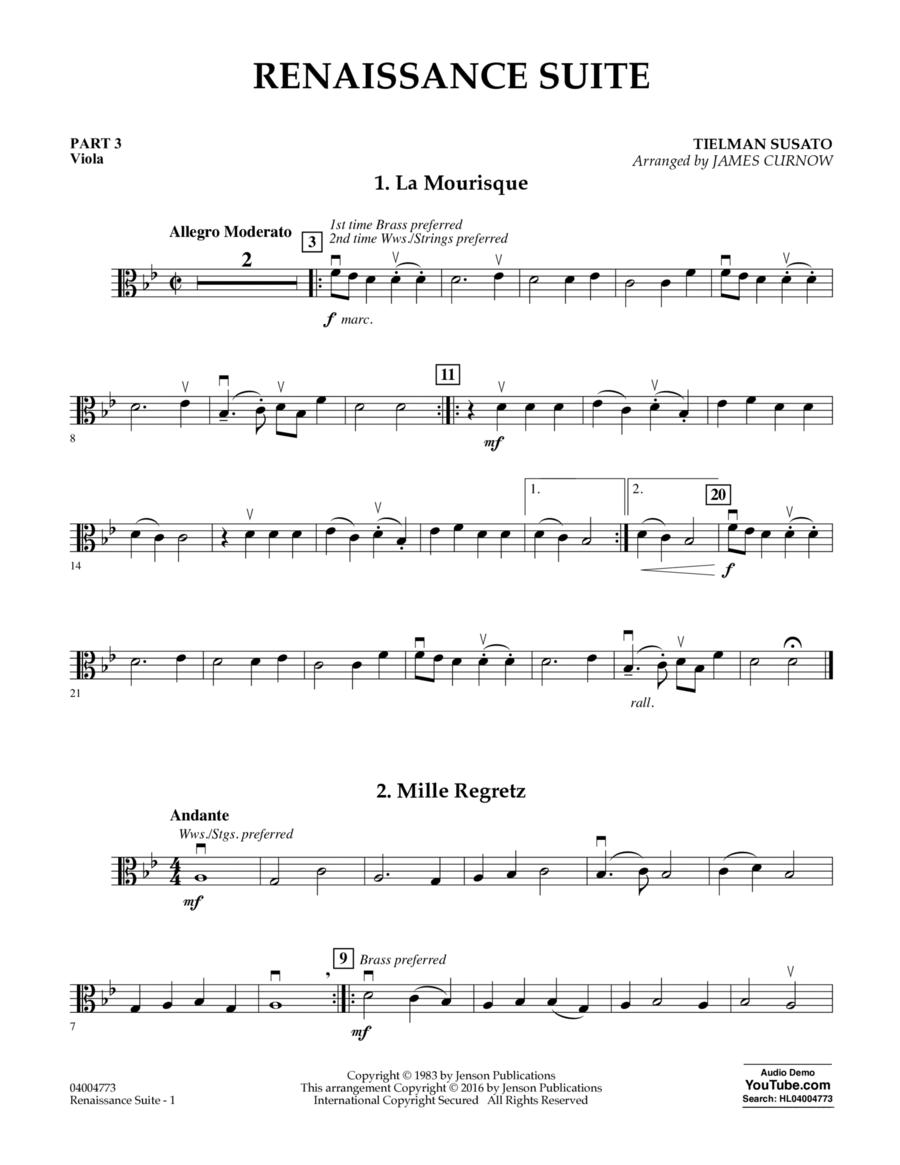 Renaissance Suite - Pt.3 - Viola