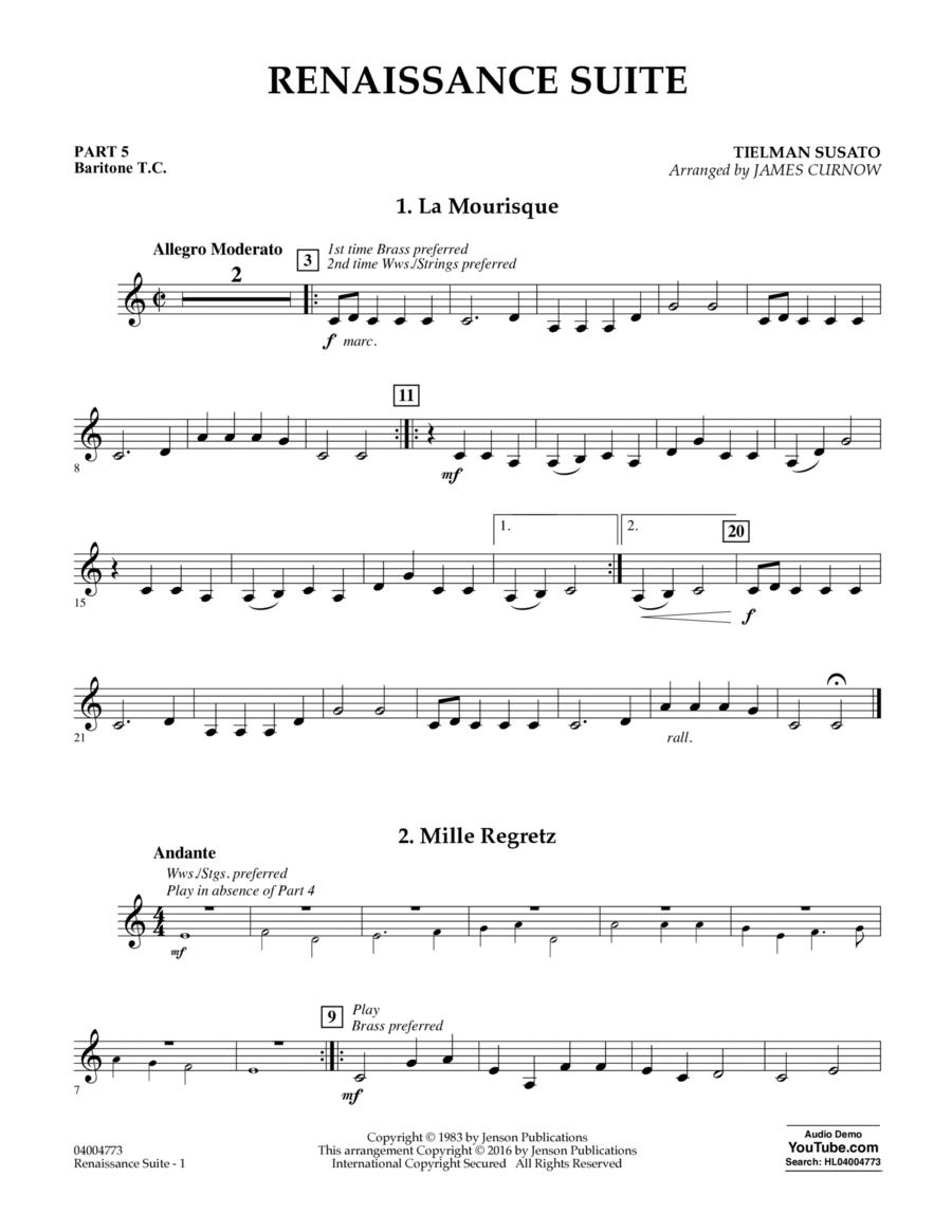 Renaissance Suite - Pt.5 - Baritone T.C.