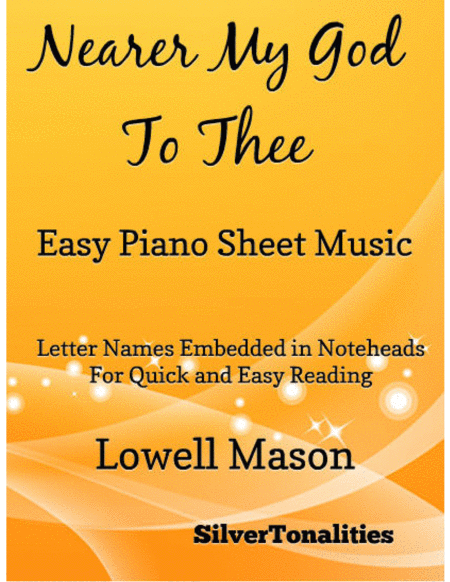Nearer My God to Thee Easy Piano Sheet Music