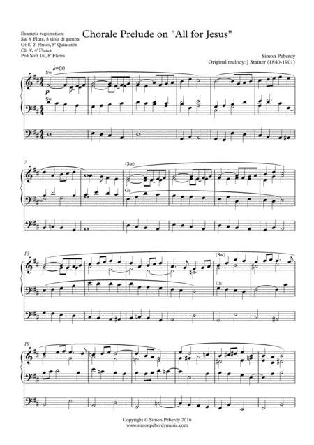 Organ Chorale Prelude on